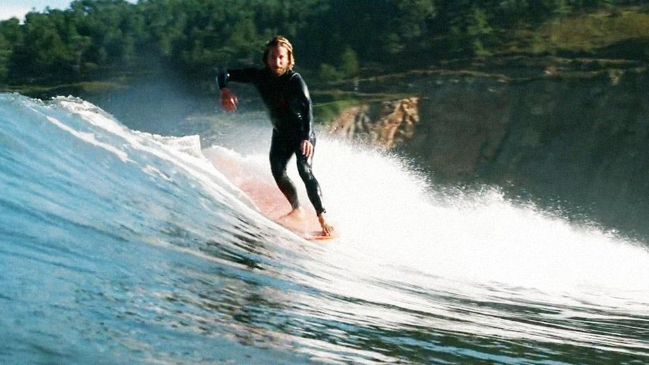 Surfoloog Jord Fortmann oppadmetjord